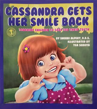 Cassandra Gets Her Smile Back